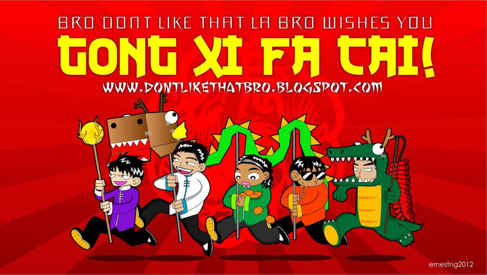 1920x1080 - Chinese New Year 2012