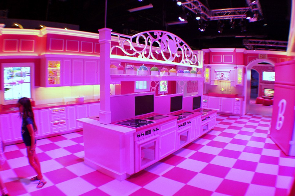Real Barbie Dreamhouse