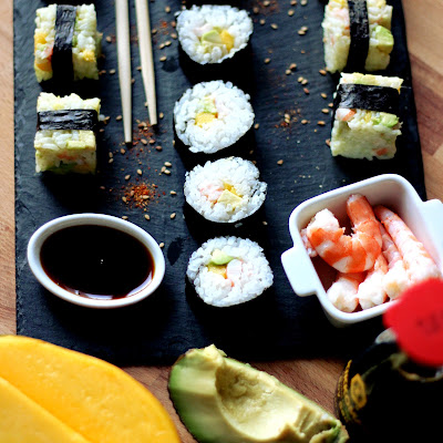 Illustration Makis Crevette - Mangue & Avocat