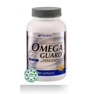 omega 3 dalam Omega Guard bantu hasilkan leptin untuk kurus,