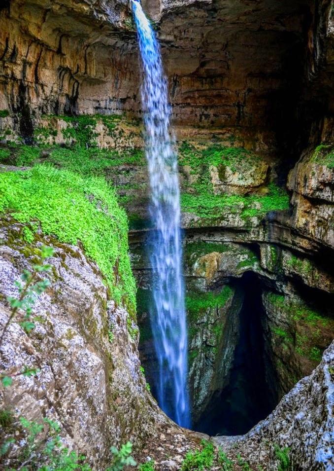 Beautiful Waterfall in Mount Lebanon ~ Nature Conservancy