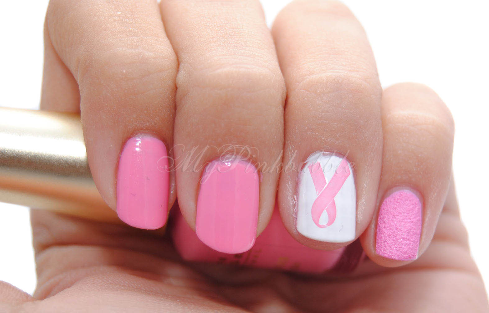 manicura lucha cancer mama