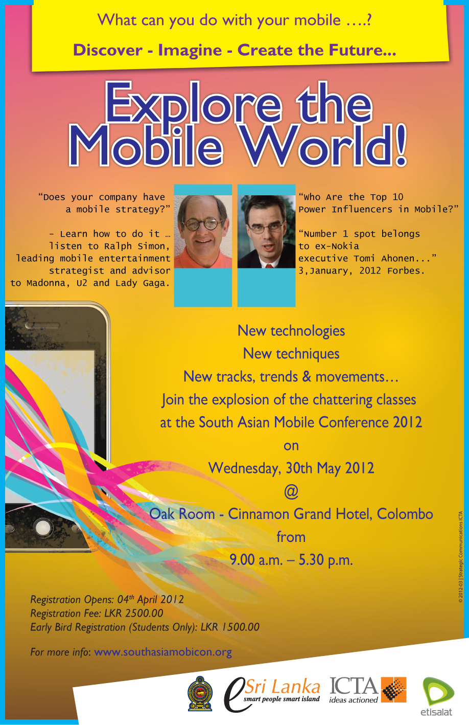 South Asian Mobile Conference Banner