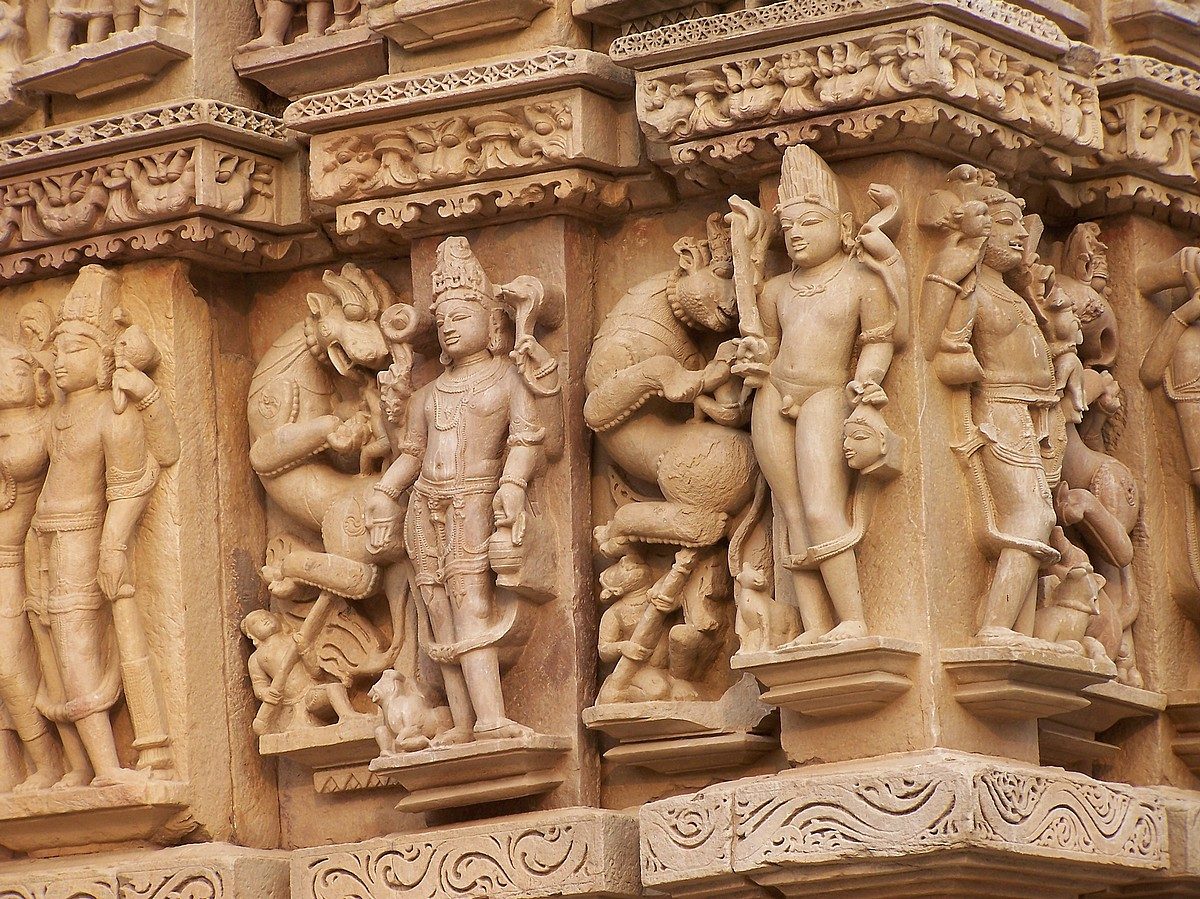Khajuraho India  city images : Top Indian tourist Attraction Khajuraho Temple Located in Madhya ...