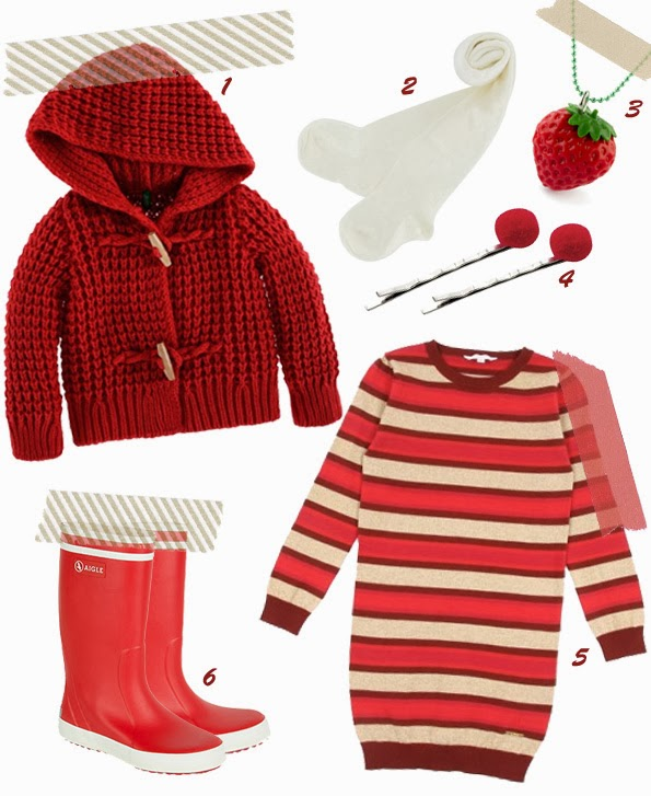 Le look chaperon rouge moderne