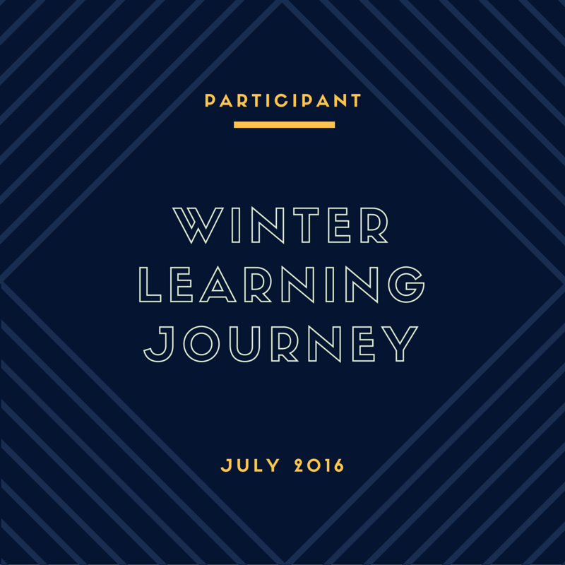Winter 2016 Blog Award - 2nd Place