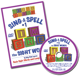 http://www.heidisongs.com/for-teachers/details.php?product=Sing_%26_Spell_the_Sight_Words_-_Volume_1_DVD_38.11