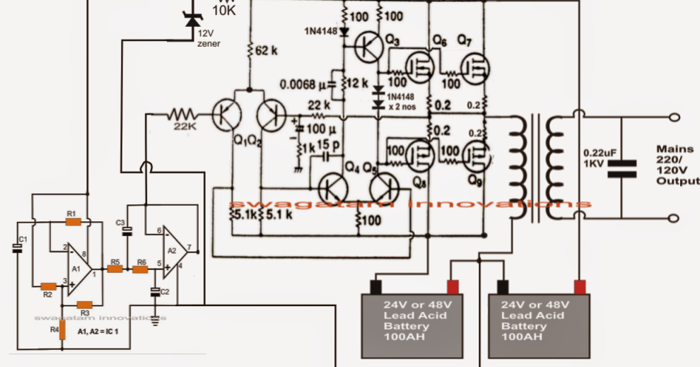 diagram of ac and dc