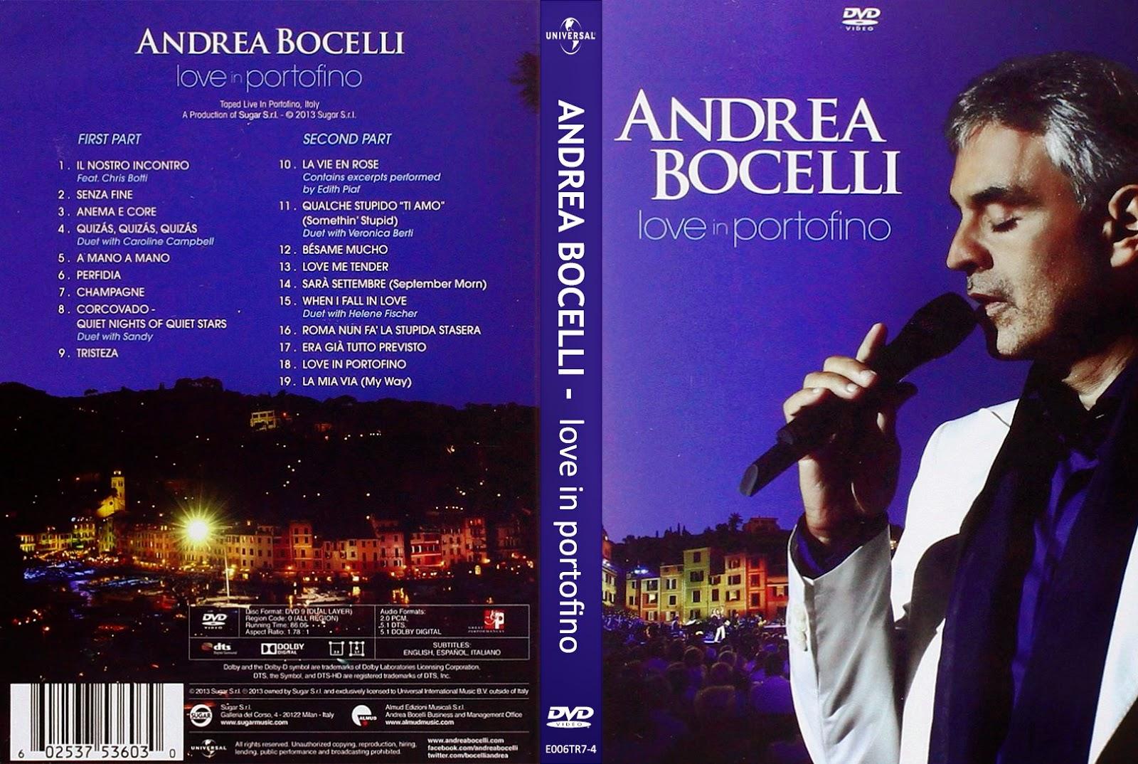EDITADAS CC: Andrea Bocelli