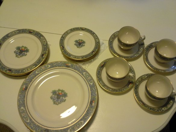 Lenox China Autumn Pattern5