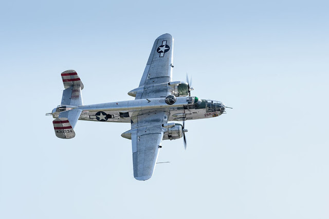"North American B-25J Mitchell ""Panchito"" Bomber"