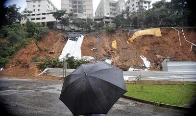 Brasil: Encontrado segundo corpo em Ouro Preto após deslizamento causado pelas chuvas