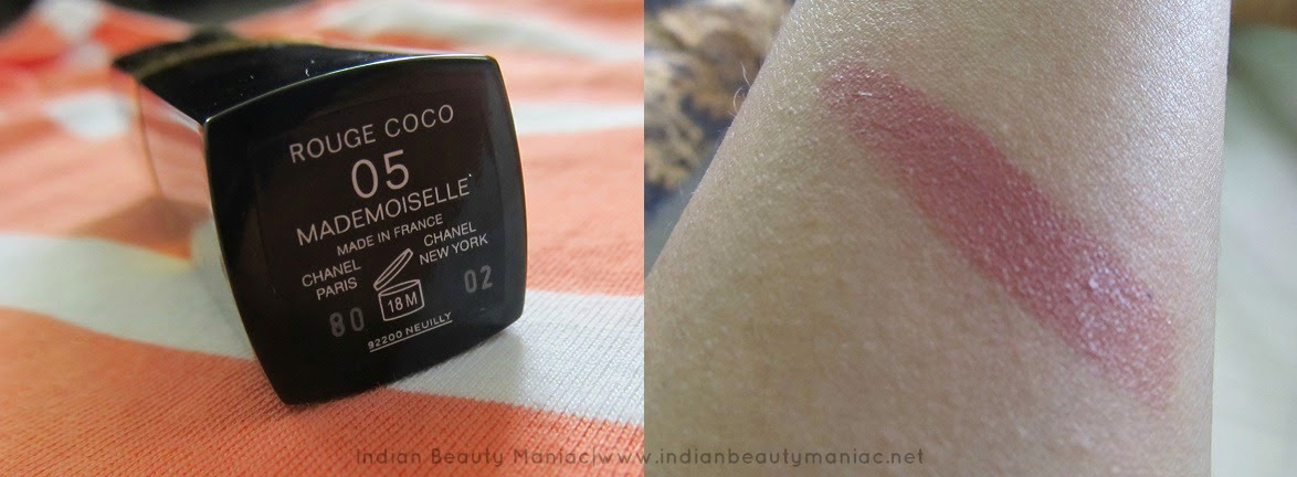 Chanel Rouge Coco Hydrating lip color Mademoiselle