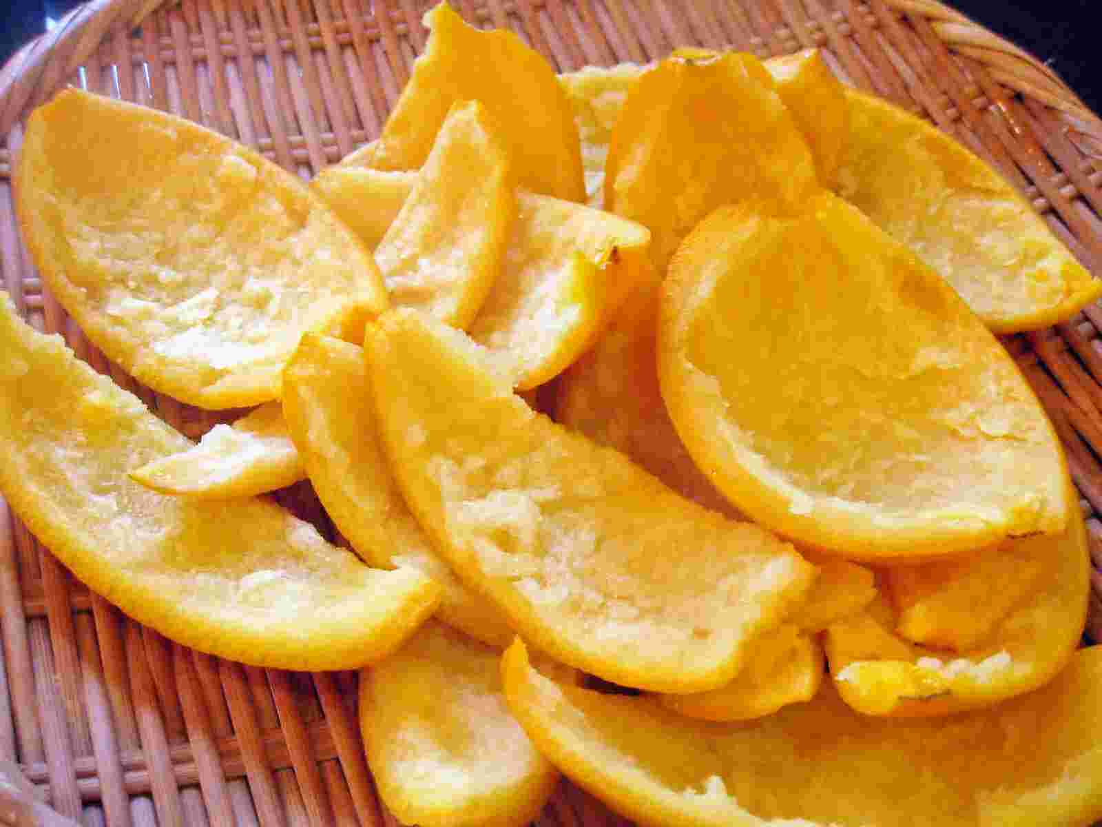 Recipes for Tom: Orenji piiru / candied orange peel