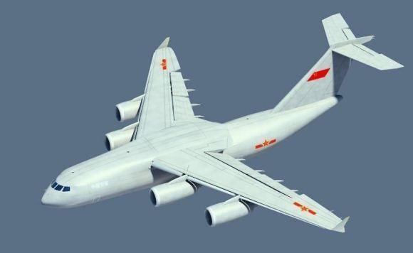 Desain Y-20 pesawat transportasi besar