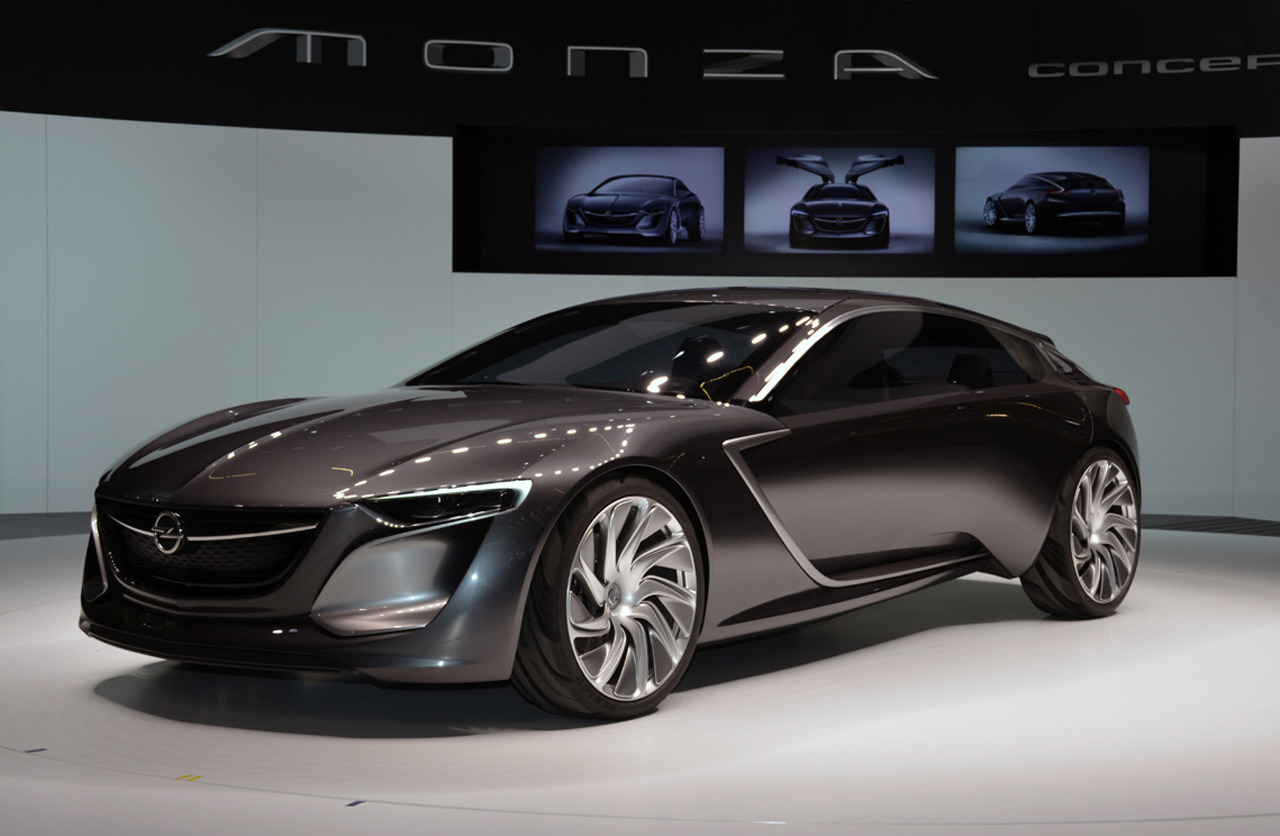 automotiveblogz opel monza concept frankfurt 2013 photos. Black Bedroom Furniture Sets. Home Design Ideas