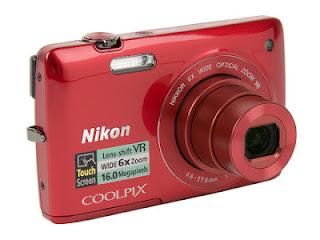 Spesifikasi dan Harga Kamera Nikon Coolpix S4300
