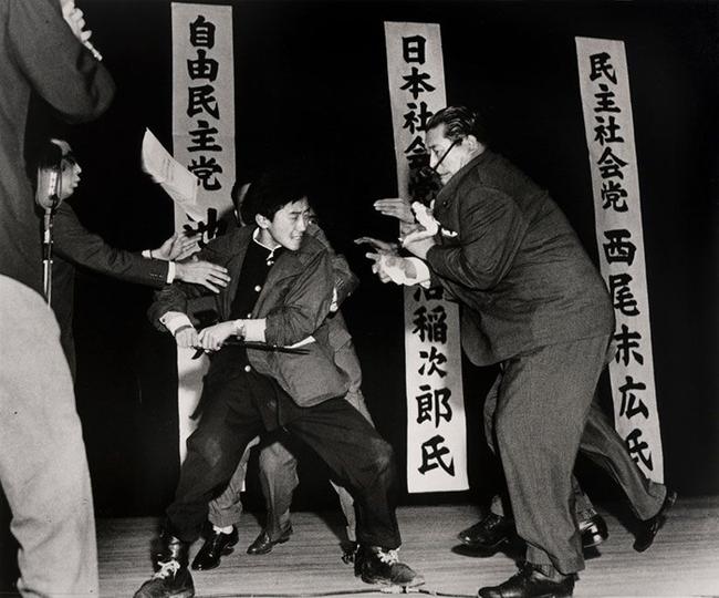 Asesinato Asanuma en Tokyo 1960