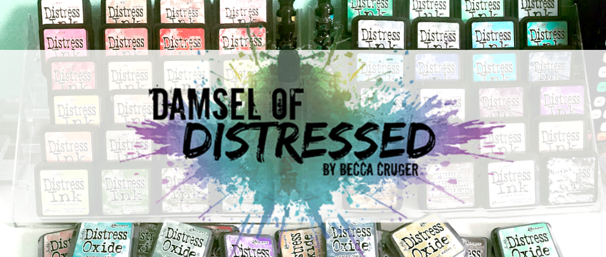 The Damsel of Distressed Cards