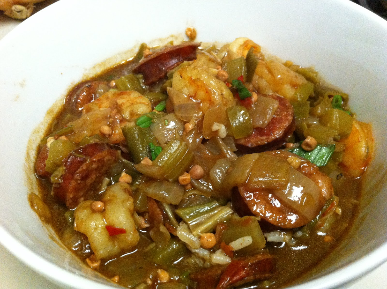 how to make seafood gumbo from scratch