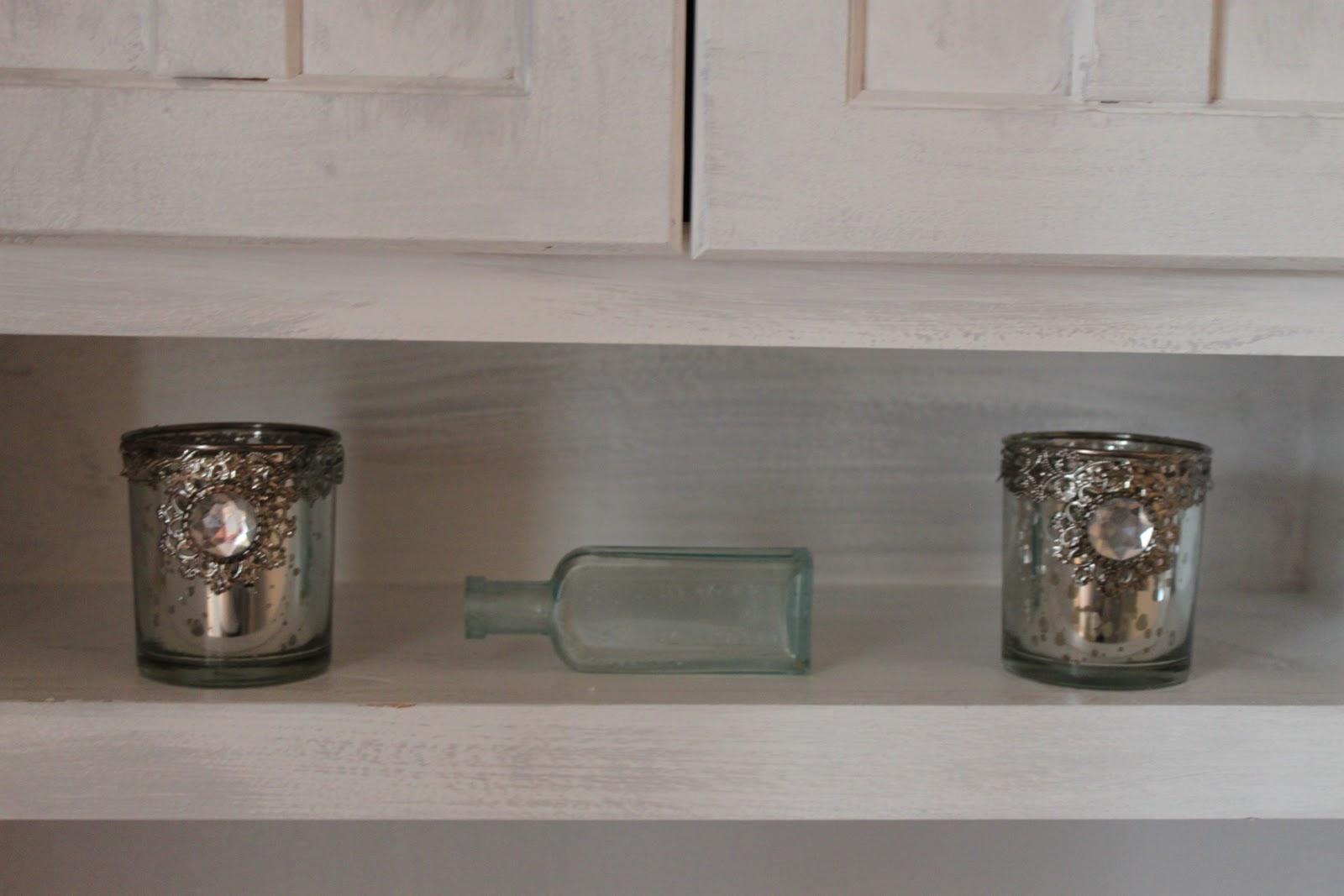 Vintage Sparkle Chic Water Closet Room Redo