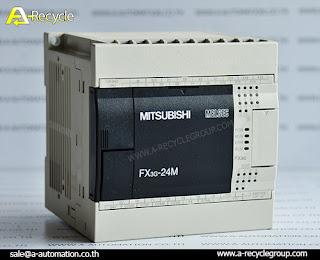 ขาย PLC Mitsubishi Model:FX3G-24MT/ES-A