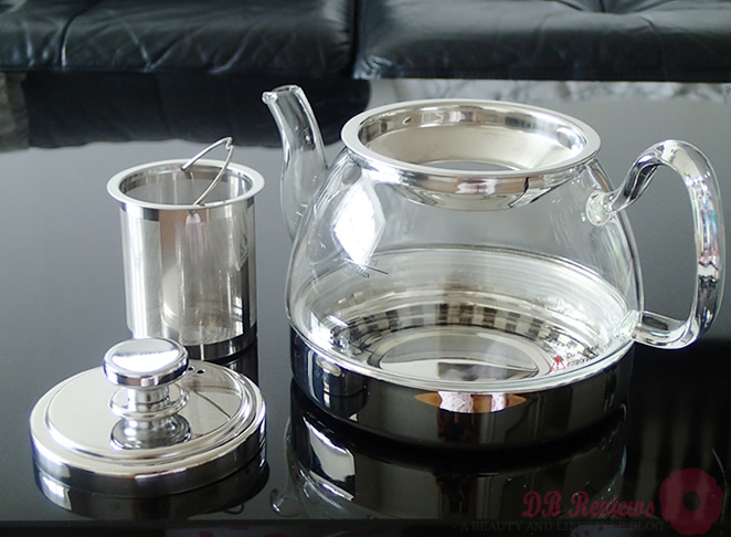 Judge Hob Top Glass Teapot
