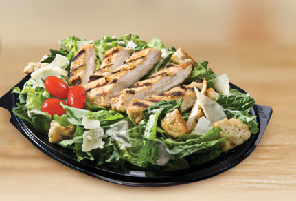 New Garden Fresh Salads are made fresh daily with premium ingredients ...