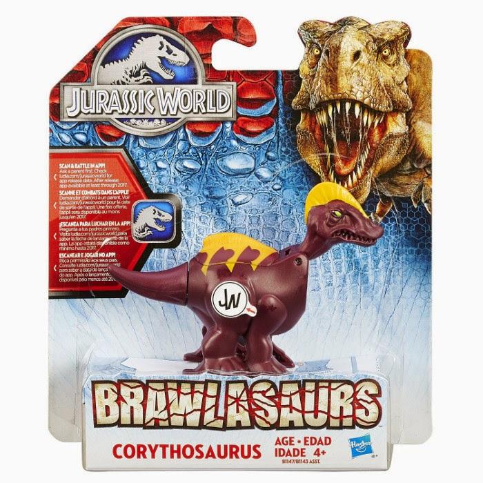 JUGUETES - JURASSIC WORLD : Brawlasaurs  Corythosaurus | Dinosaurio | Figura - Muñeco Toys | Producto Oficial Película 2015 | Hasbro B1147 A partir de 4 años