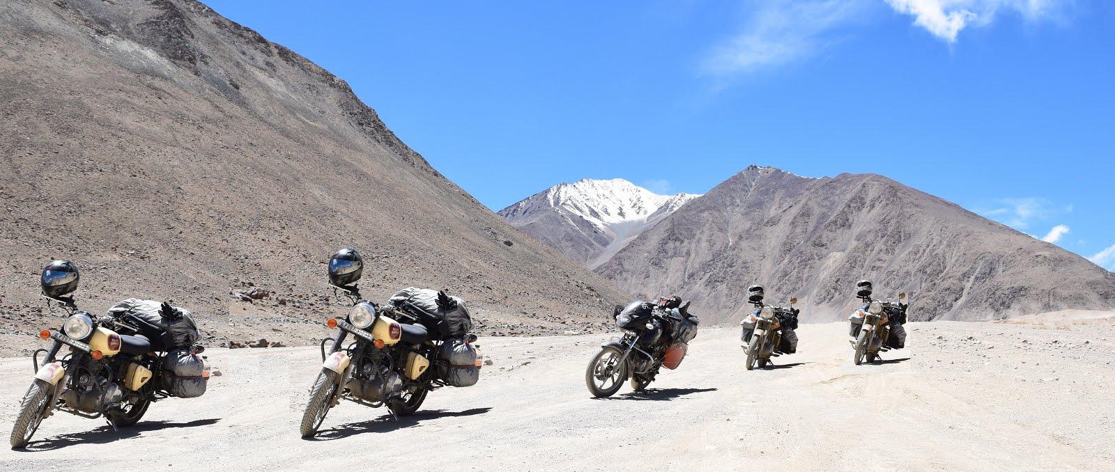 Bikes Rental for Leh Ladakh