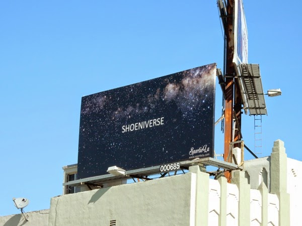 Shoeniverse Sportie LA sneakers billboard