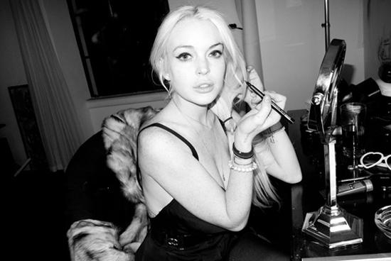 Lindsay Lohan les photos osées de son shooting avec Terry Richardson