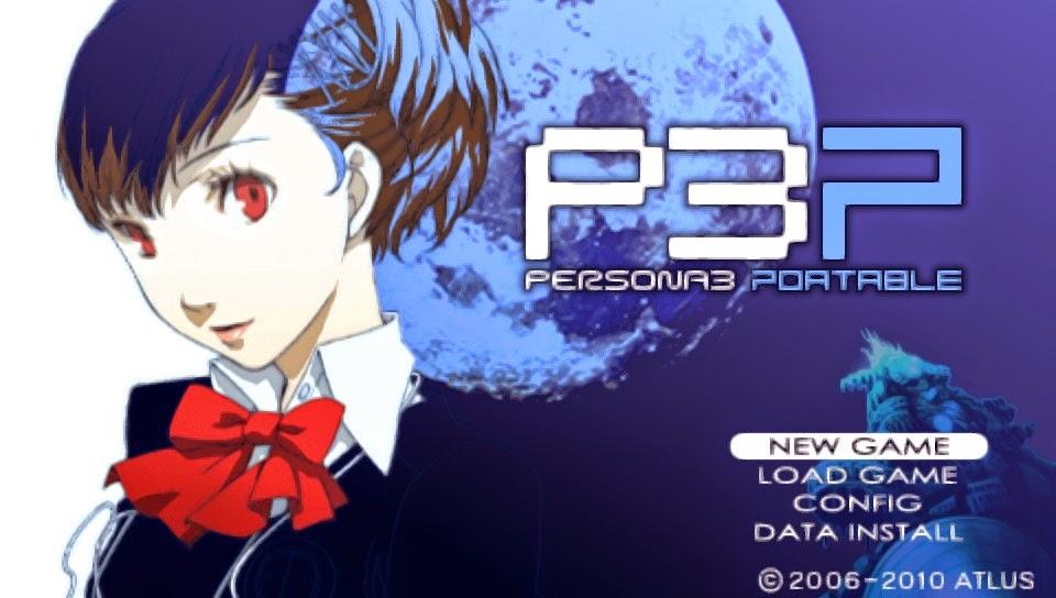 Shin Megami Tensei Persona 3 Portable Psp Iso Rom Game For