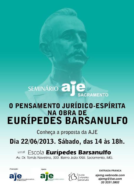 O Pensamento Jurídico-Espírita na obra de Eurípedes Barsanulfo