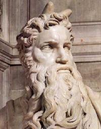 Escultura de Moisés