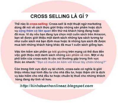 Tăng doanh thu bán hàng Online với Cross Selling