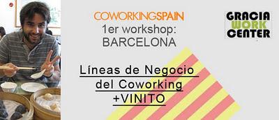 1er workshop barcelona lineas de negocio del coworking