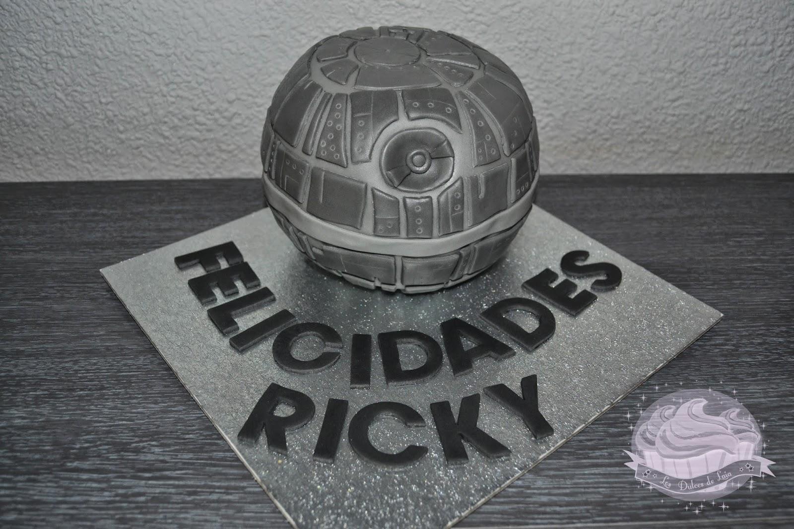 Tarta Estrella de la Muerte de Star Wars