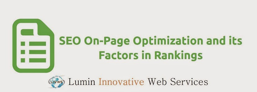 SEO On-Page Optimization and its Factors in Rankings