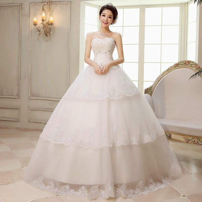Disfruta de una gran colección de vestidos de novia al esto coreano.