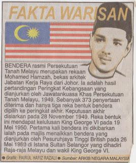 Maksud Disebalik Warna di Bendera Malaysia