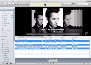 iTunes doppelte Titel sortieren