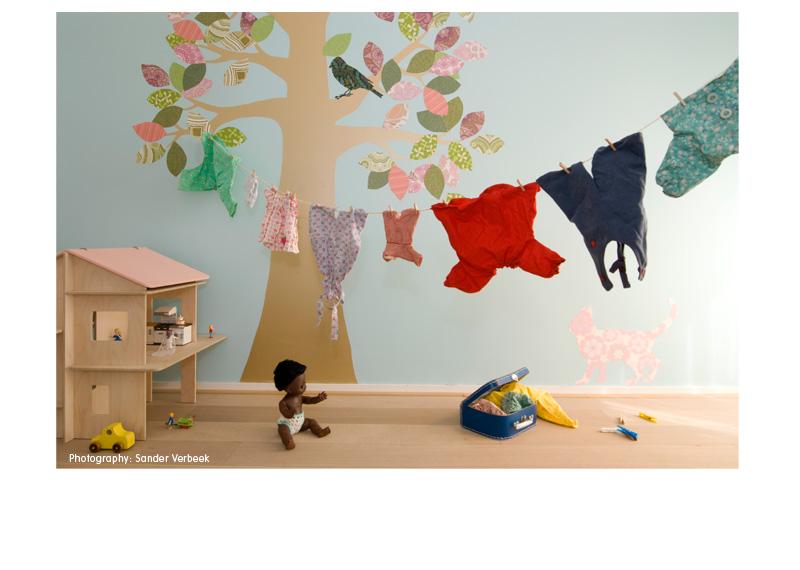 Inspired living wallpaper madness wall decor - Vinilos originales infantiles ...