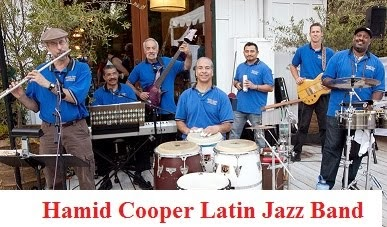 Intoroducing the Hamid Cooper Latin Jazz Band