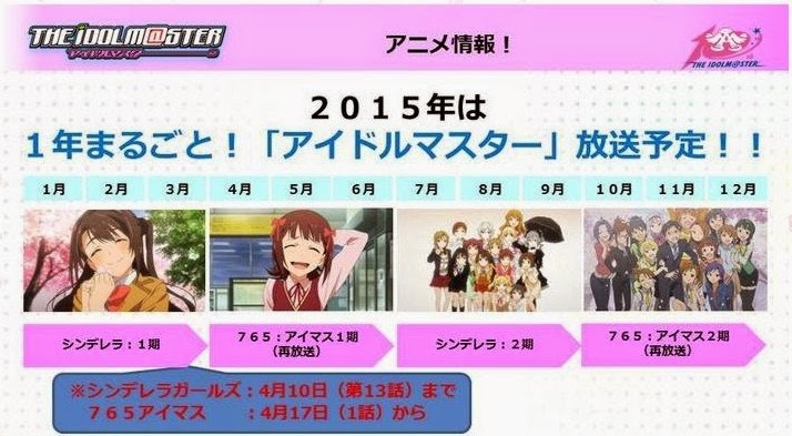 AOI Corner: SEASON 2 SERIAL TV ANIME THE IDOLM@STER