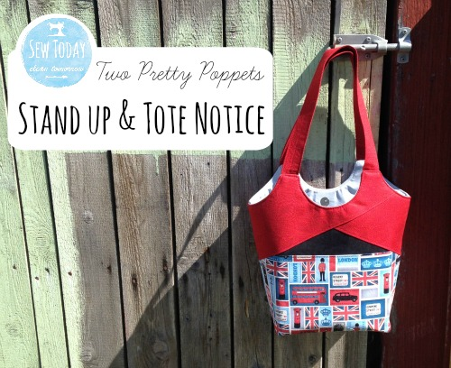 Stand Up & tote Notice - Two Pretty Poppets