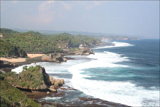 tempat wisata  pantai baron jogjakarta