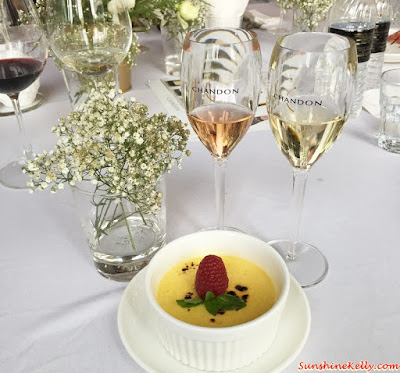Raspberry Crème Brûlée, Bubbly Afternoon with Chandon, EGG, Chandon, Chandon Brut, Chandon Rose, Chardonnay 2013, Pinot Noir 2013, Shiraz 2012, Domaine Chandon, Eight Gourmets Gala, EGG,