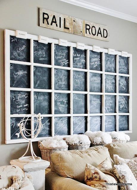 DIY Wall Calendar