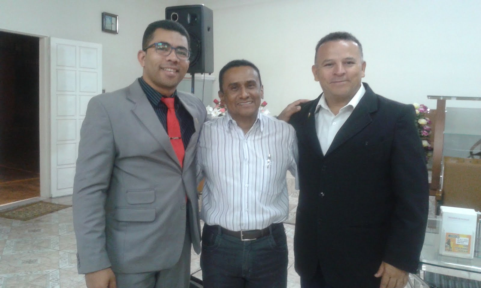 Com pastor Joel e pr Leandro